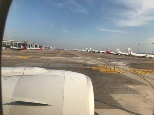 浦東空港到着