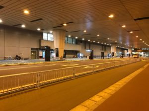 成田バス乗り場